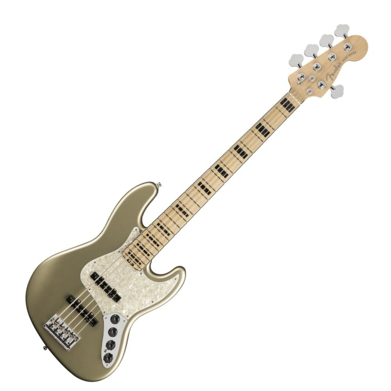 Fender American Elite Jazz Bass V MN CHMP 5弦 エレキベース