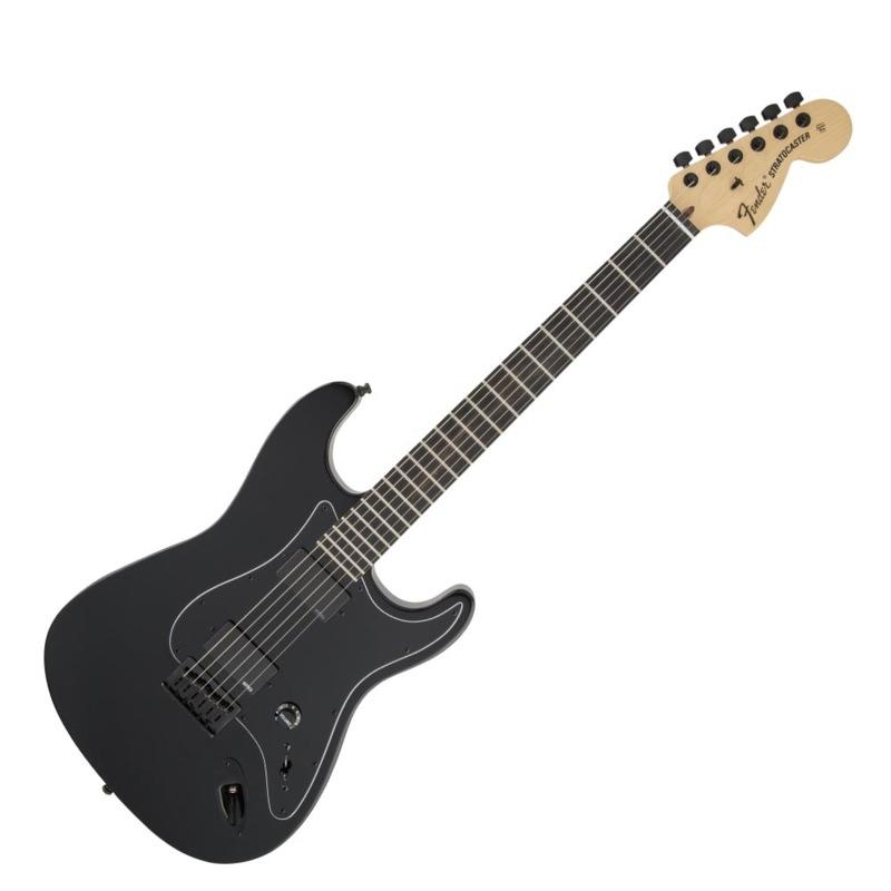 フェンダー Slipknot Jim Root ストラトキャスター Fender Jim Root Stratocaster EB B/W/B BLK エレキギター