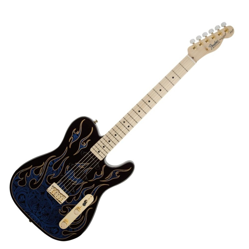 Fender James Burton Telecaster BLUE PAISLEY FLAMES エレキギター