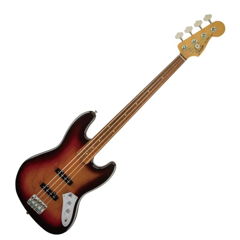 Fender Jaco Pastorius Jazz Bass FL 3TS フレットレス エレキベース