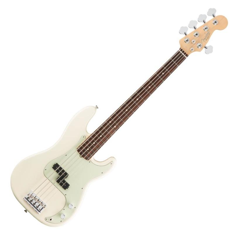 Fender American Professional Precision Bass V RW OWT 5弦エレキベース
