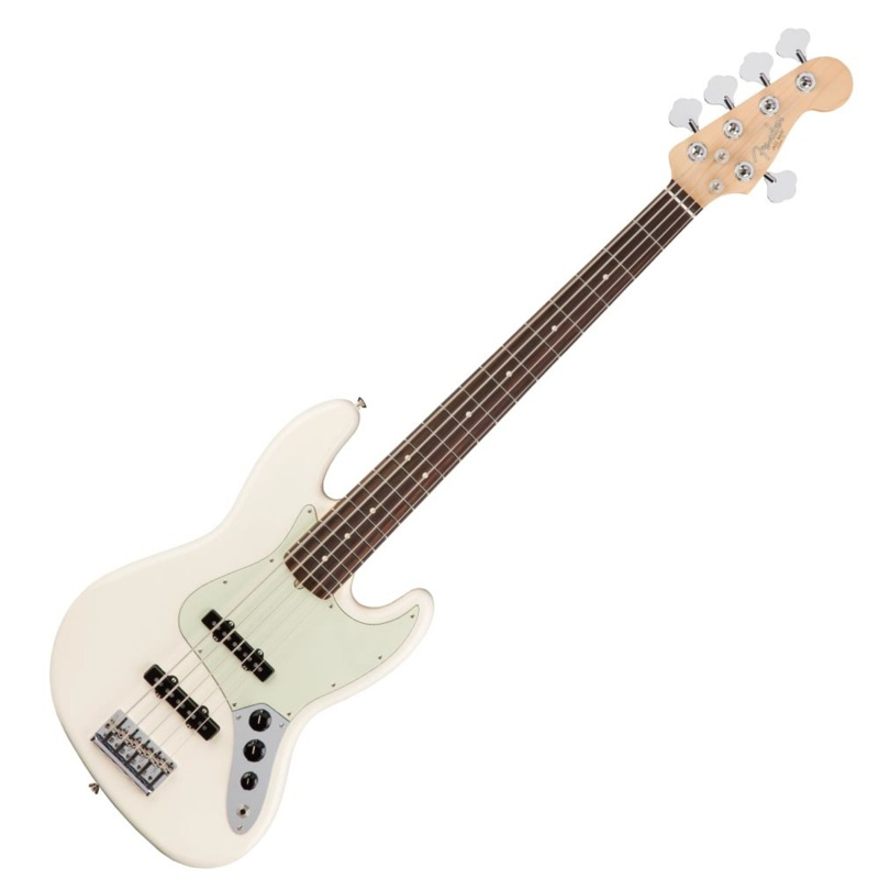 Fender American Professional Jazz Bass V RW OWT 5弦エレキベース