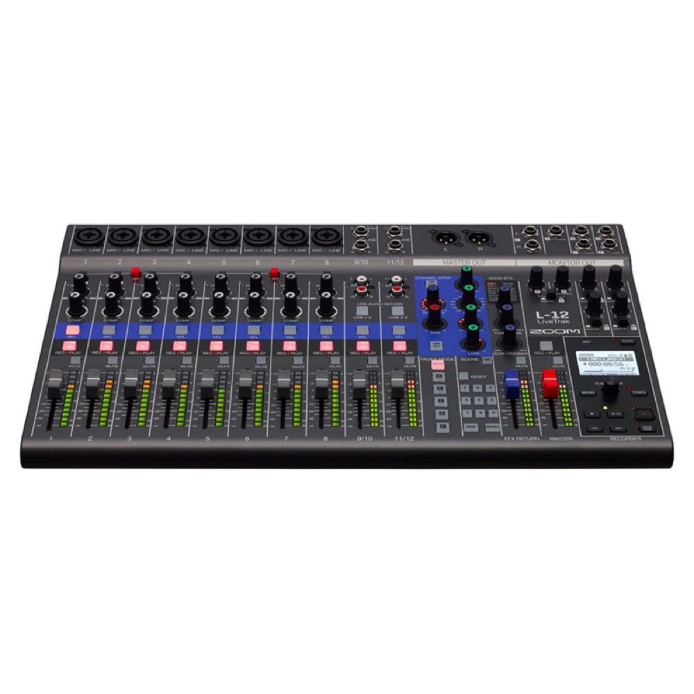 ZOOM LIVETRAK L-12 MTR デジタルミキサー レコーダー USBオーディオインターフェイス