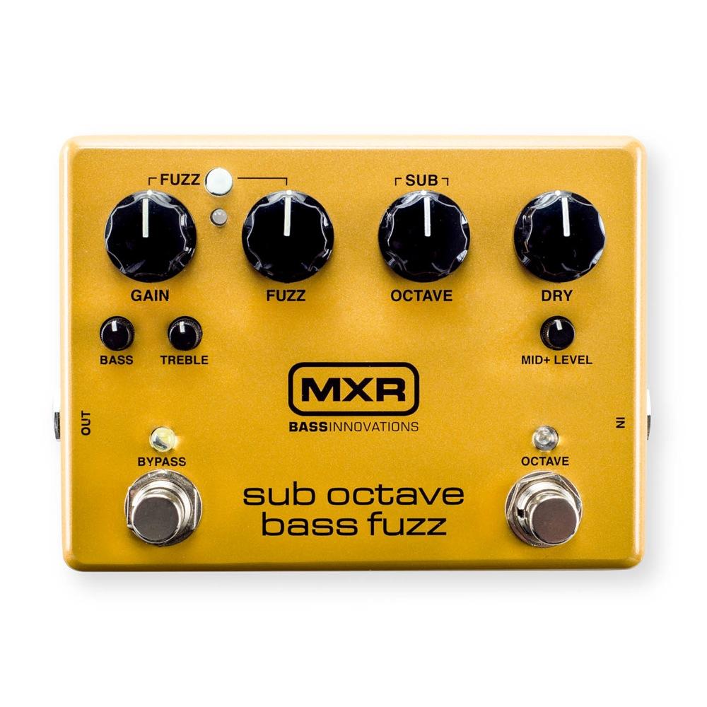 MXR M287 Sub Octave Bass Fuzz ファズ ベースエフェクター