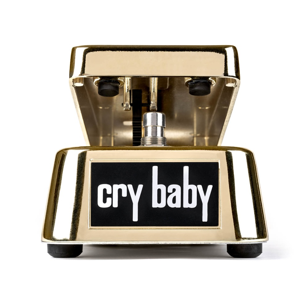 JIM DUNLOP GCB95G 50TH ANNIVERSARY GOLD CRY BABY WAH ワウ エフェクター