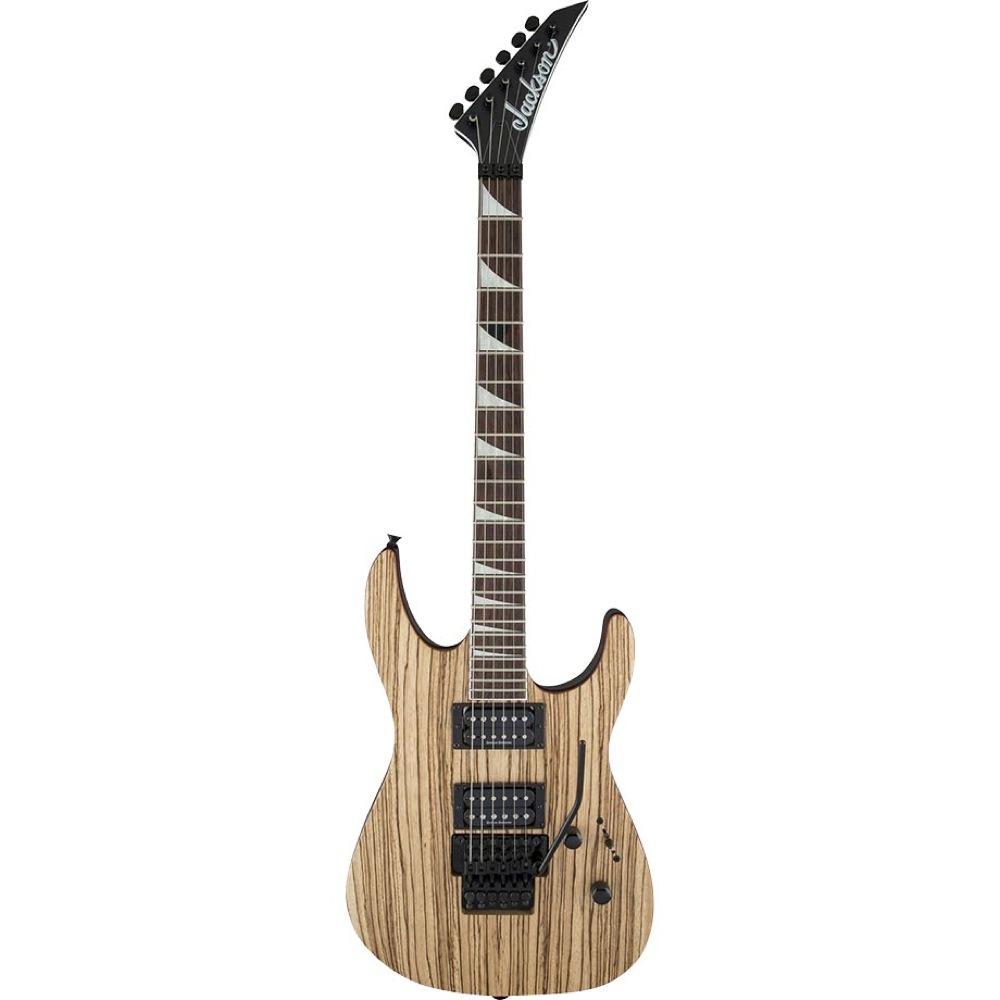 Jackson X Series Soloist SLX Zebra Wood Natural エレキギター