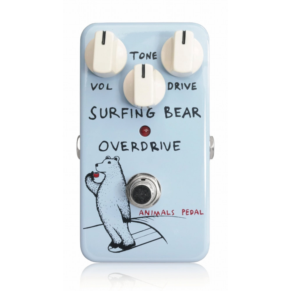 Animals Pedal Surfing Bear Overdrive エフェクター