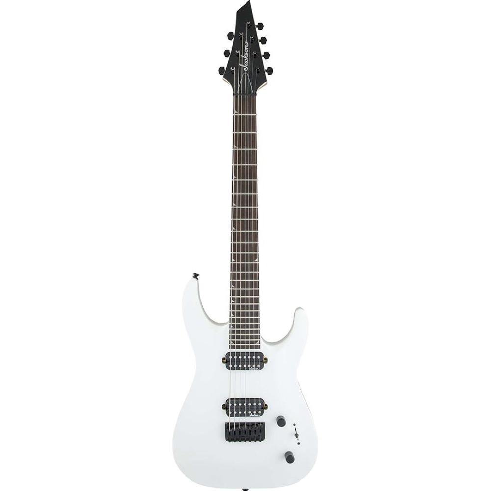 Jackson JS Series JS32-7 DKA Dinky Snow White 7弦エレキギター