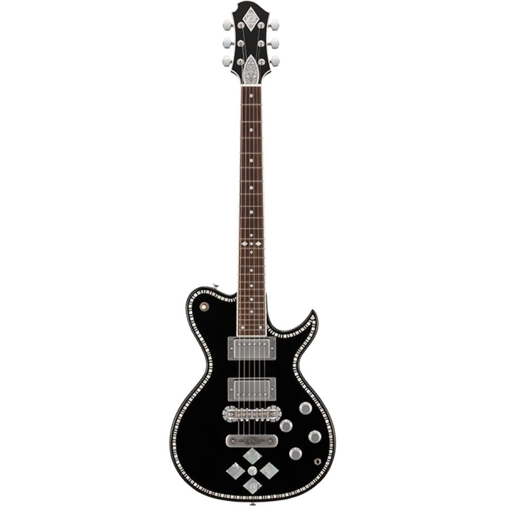 ZEMAITIS A24SU DC BLACK エレキギター