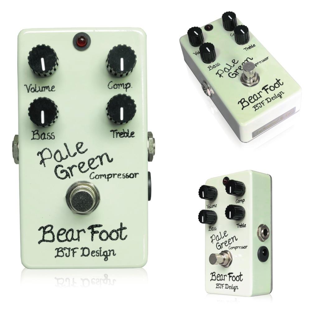 Bearfoot Guitar Effects Pale Green Compressor 4K コンプレッサー エフェクター