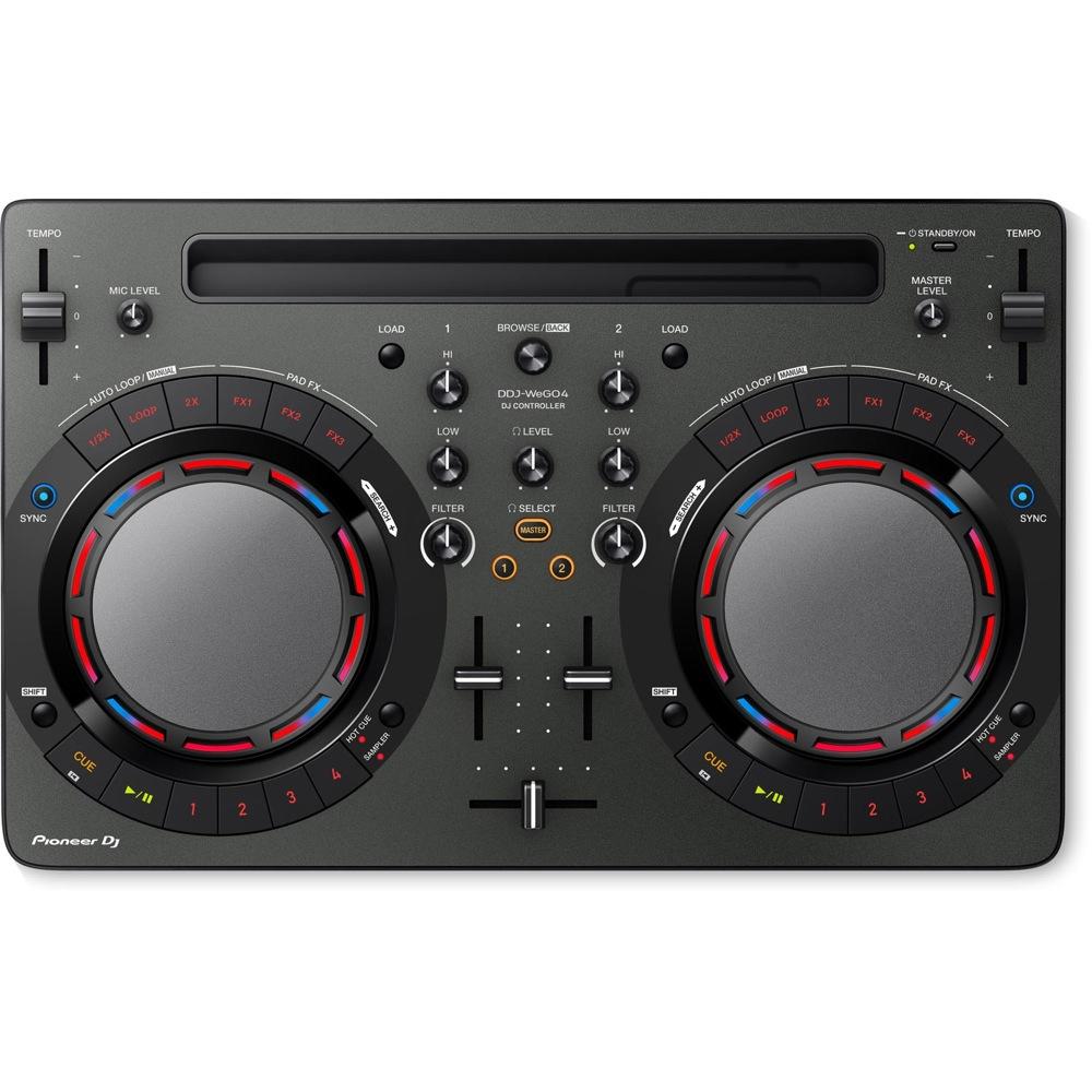 Pioneer DDJ-WEGO4-K black DJコントローラー