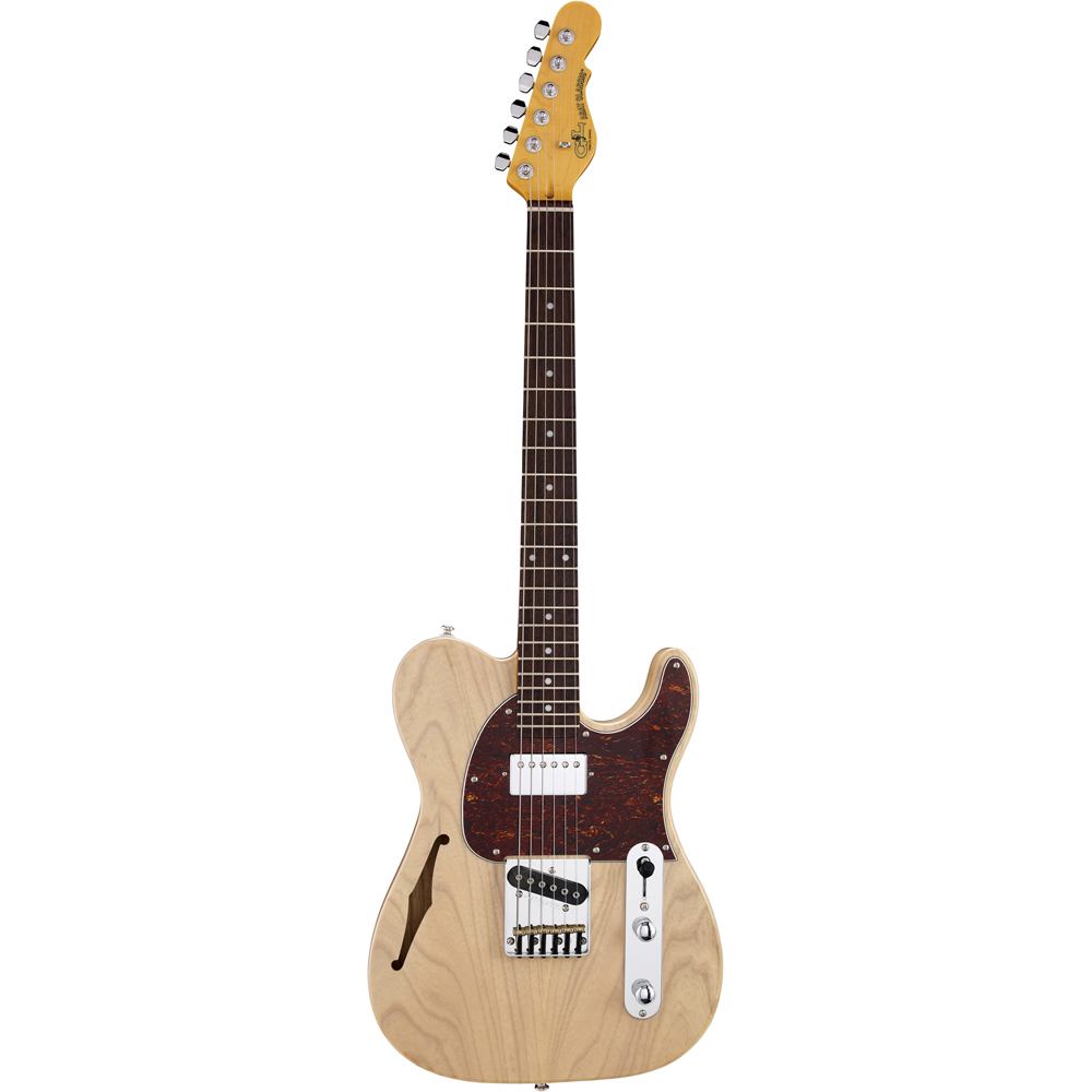 G&L Tribute Series ASAT Classic Bluesboy Semi-Hollow Blonde エレキギター