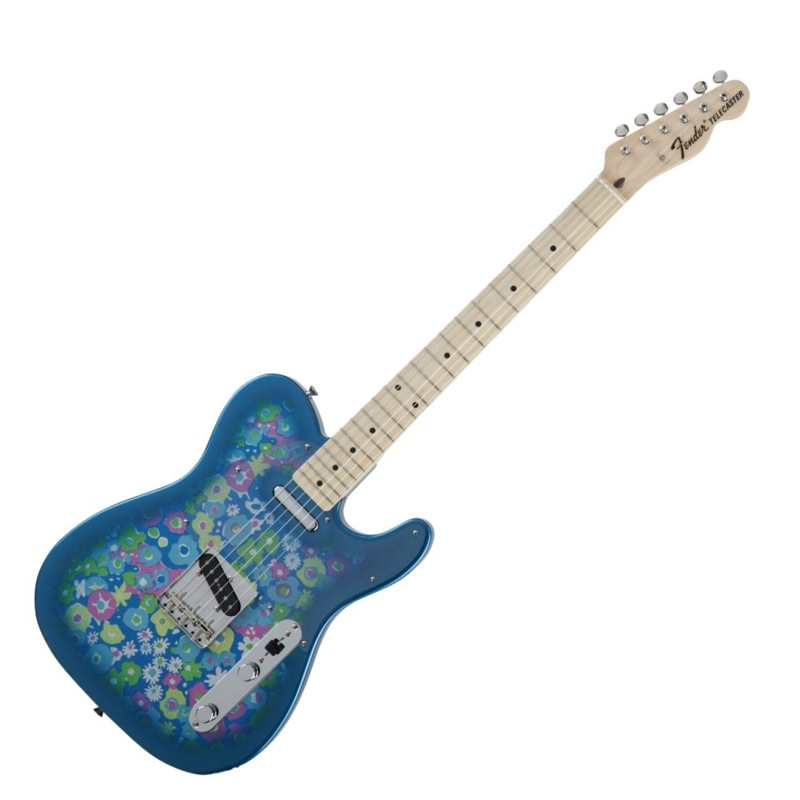 Fender '69 Made BLU in Japan Traditional '69 Telecaster BLU FLWR Telecaster エレキギター, ナガトマチ:7598e8d9 --- mail.ciencianet.com.ar