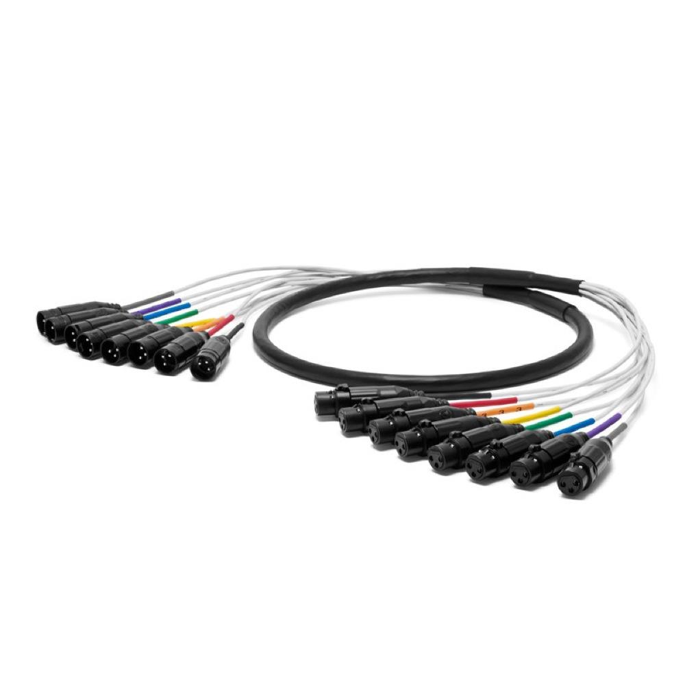 NEO by OYAIDE Elec PA-08 XLR V2 1.5m アナログ・デジタル両用 8chマルチケーブル