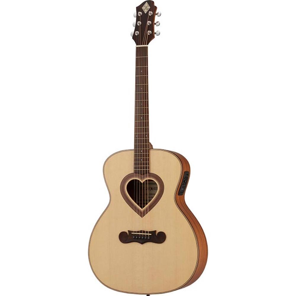 ZEMAITIS CAG-100HW-E-LH Grand Auditorium レフティ エレクトリックアコースティックギター