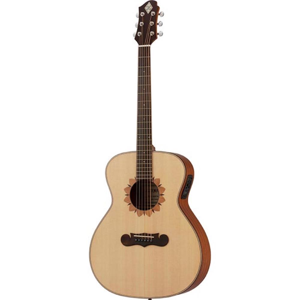 ZEMAITIS CAG-100FW-E-LH Grand Auditorium レフティ エレクトリックアコースティックギター