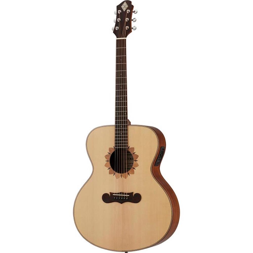ZEMAITIS CAJ-100FW-E-LH Jumbo レフティ エレクトリックアコースティックギター
