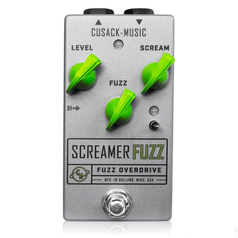 Cusack Music Screamer Fuzz V2 エフェクター