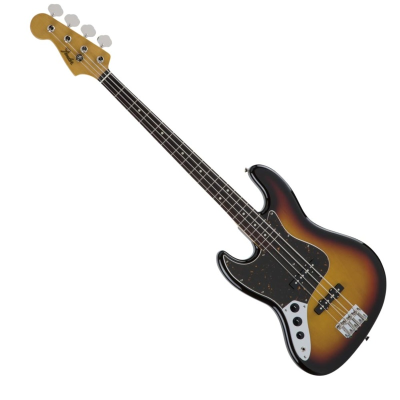 Fender Made in Japan Traditional '60s Jazz Bass Left-Hand 3TSB レフティ エレキベース