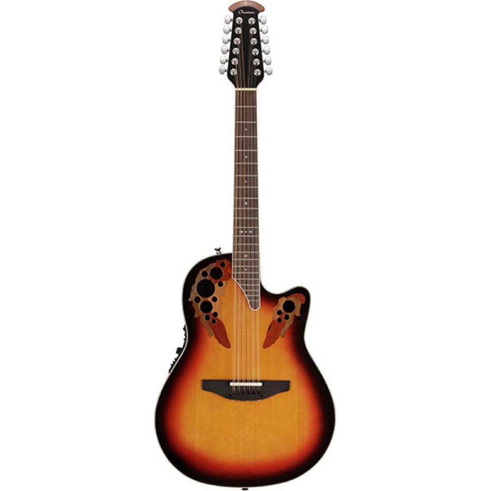 Ovation Standard Elite 12-Strings 2758AX New England Burst 12弦エレクトリックアコースティックギター
