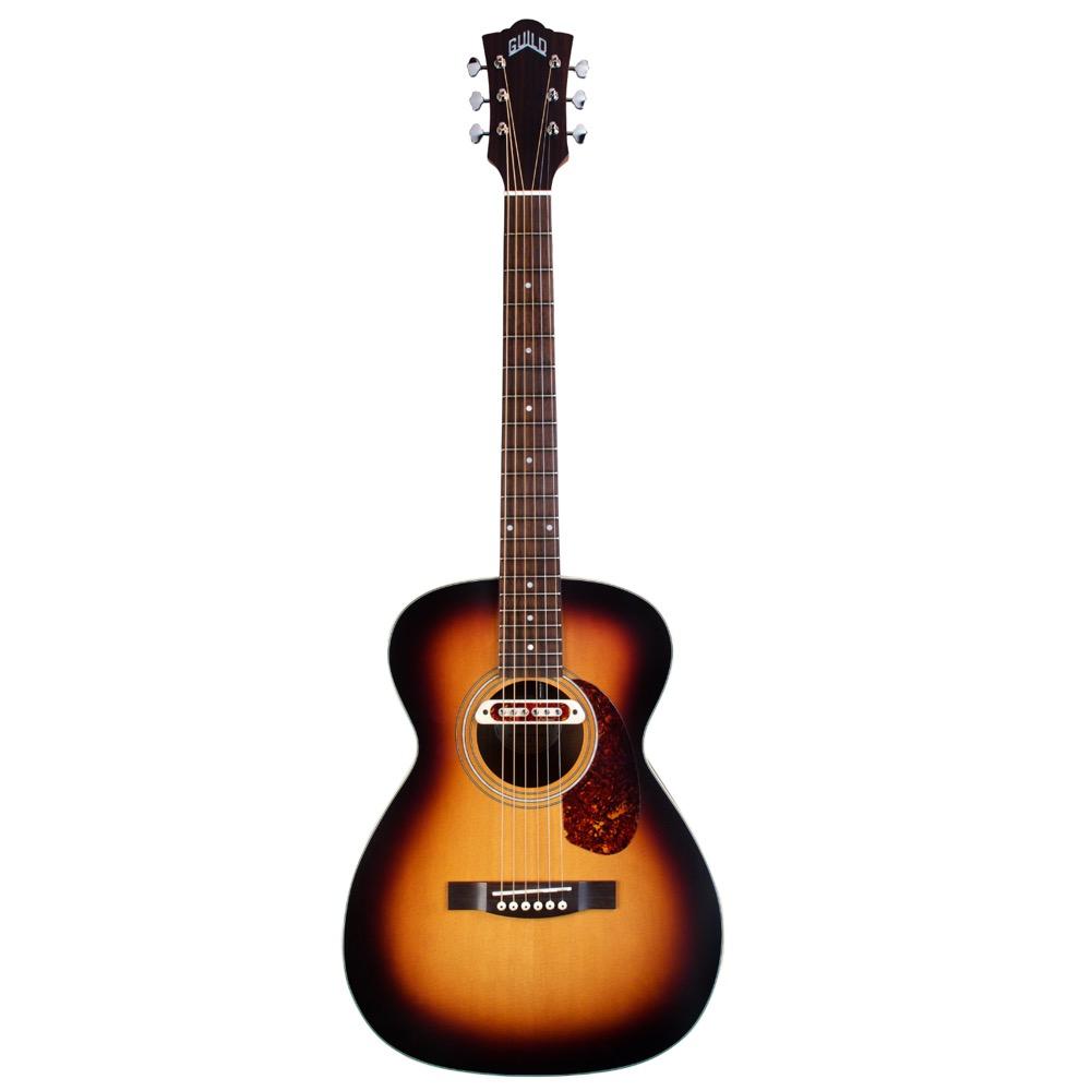 GUILD M-240E Troubadour ピックアップ付きアコースティックギター
