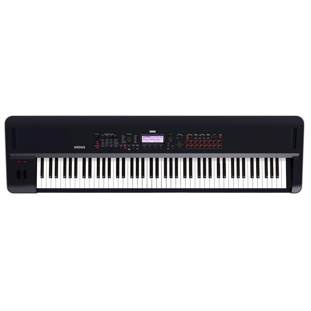 KORG KROSS2-88 ダークブルー 88鍵盤 シンセサイザー