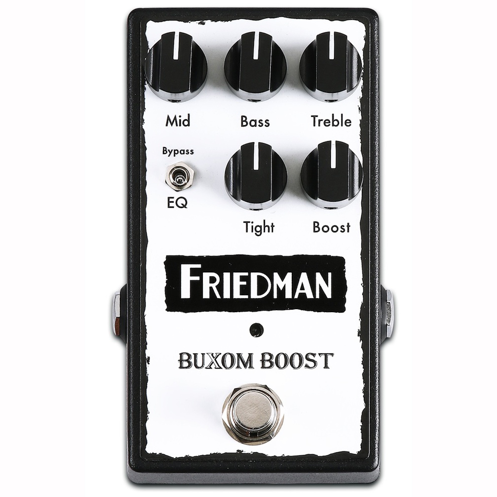 Friedman BUXOM BOOST ギターエフェクター