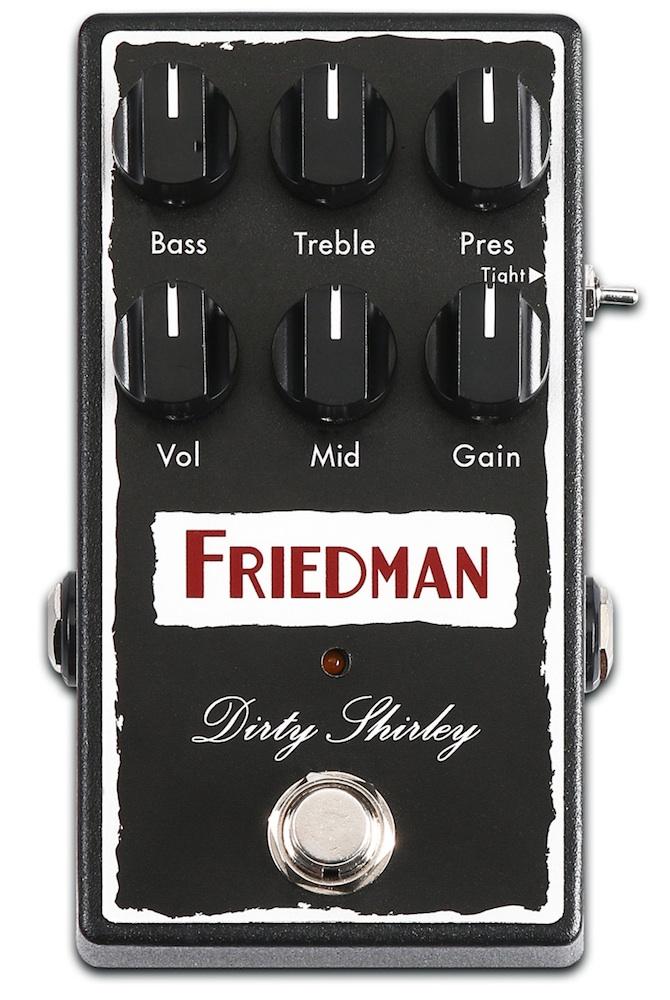 Friedman DIRTY DIRTY SHIRLEY ギターエフェクター, 試験機計測機の専門店ディエス:7360fed8 --- thomas-cortesi.com