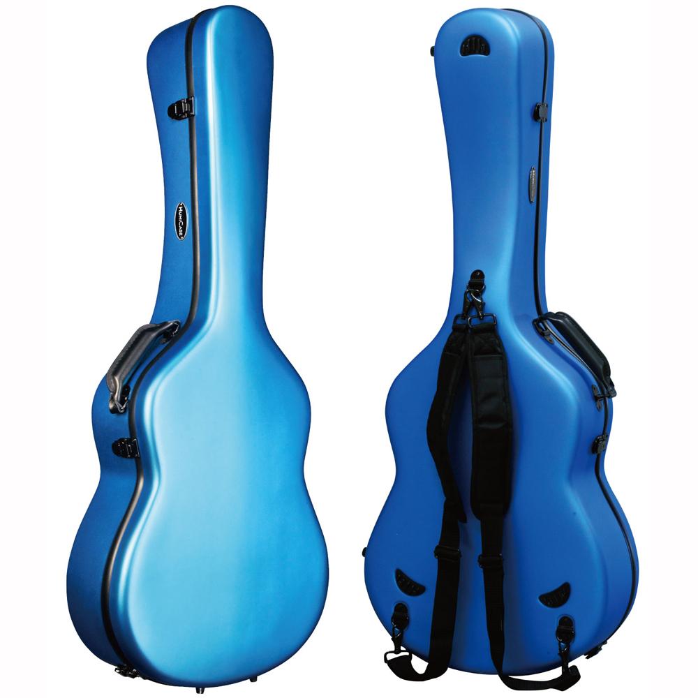 HumiCase Metro II Blue クラシックギター用ケース