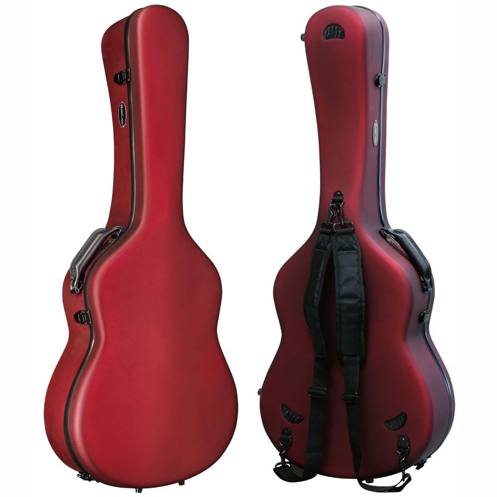 HumiCase Metro II Red クラシックギター用ケース