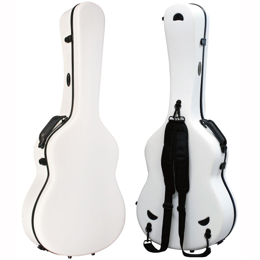 HumiCase Metro II White クラシックギター用ケース