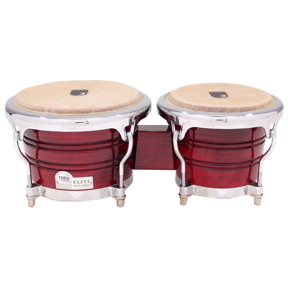 TOCA 3170CF Elite Pro Wood Bongos Crimson Fade ボンゴ