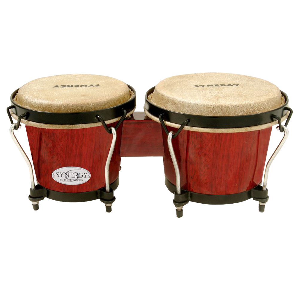 TOCA 2100RR Synergy Wood Bongos Red ボンゴ