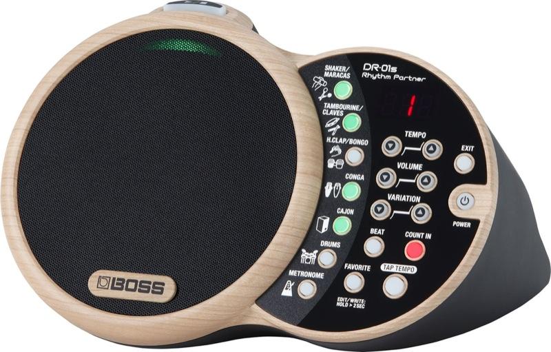 BOSS DR-01S Rhythm Partner リズムパートナー スピーカー内臓リズムボックス