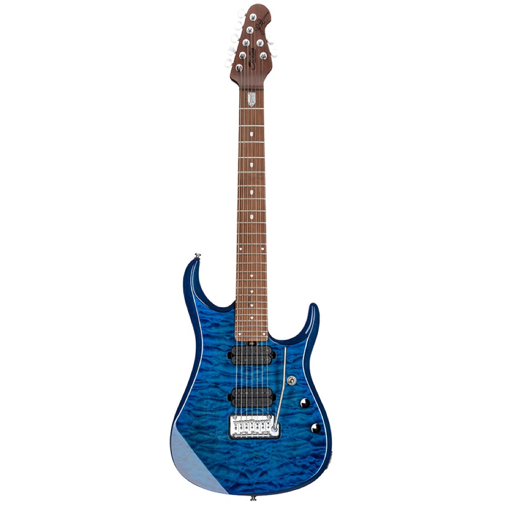 Sterling by MUSIC MAN JP157 Neptune Blue 7弦エレキギター