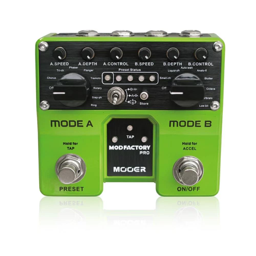 Mooer Mod Factory Pro モジュレーション エフェクター