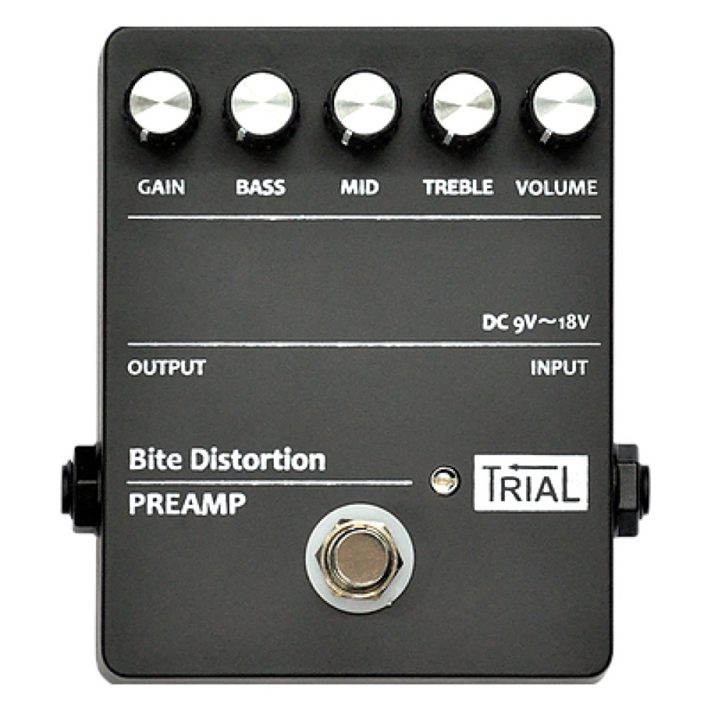 TRIAL Bite Distortion ディストーション エフェクター