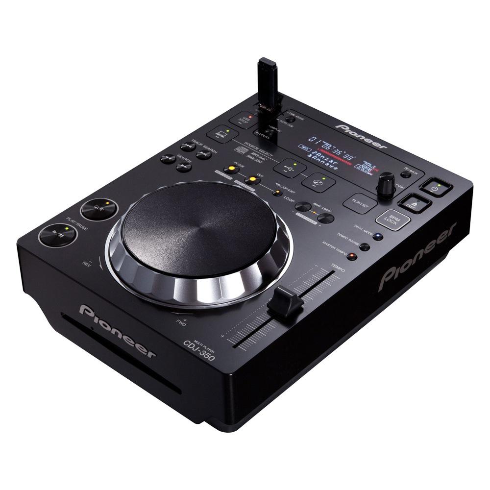 Pioneer CDJ-350 Black DJ用マルチプレーヤー
