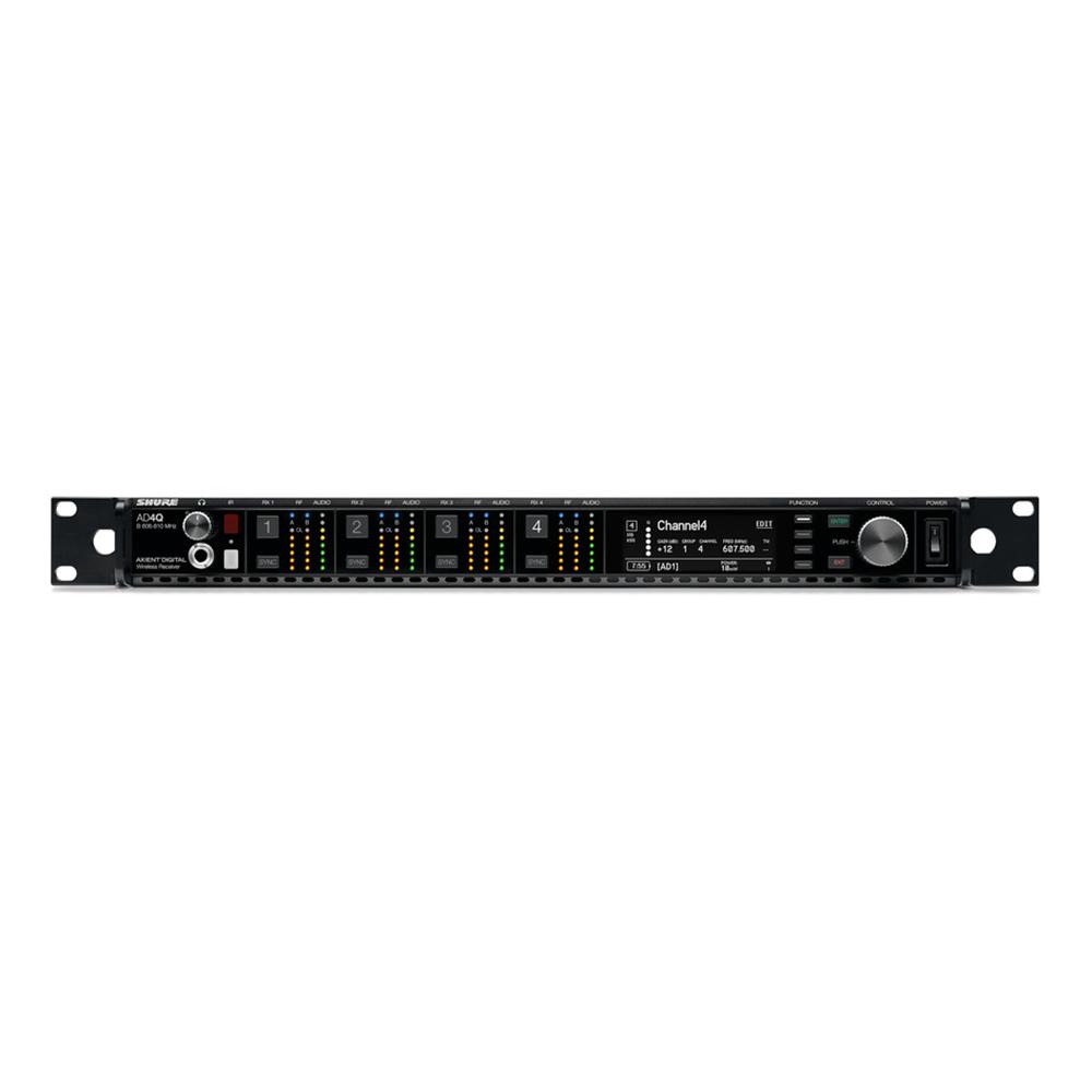 SHURE AD4QJ-B ワイヤレスシステム 4ch受信機
