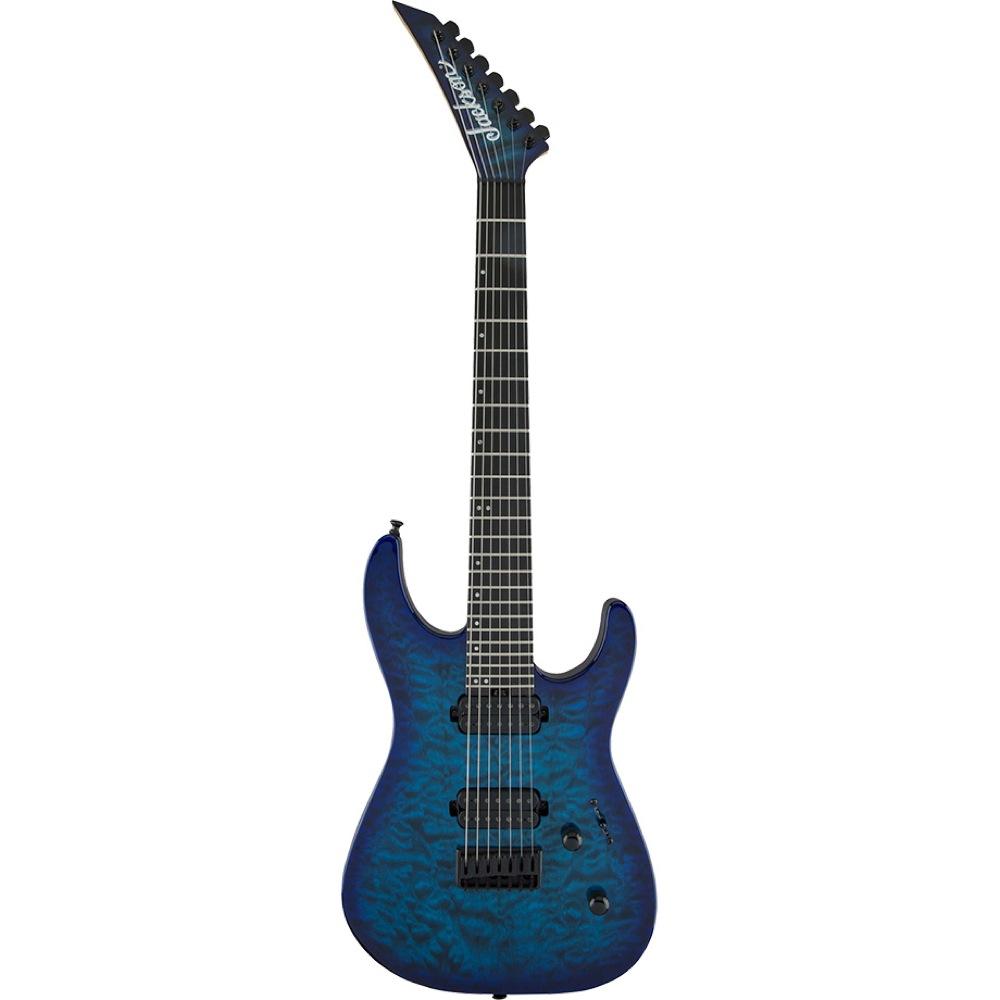 Jackson Pro Dinky DK7Q HT Chlorine Burst 7弦 エレキギター