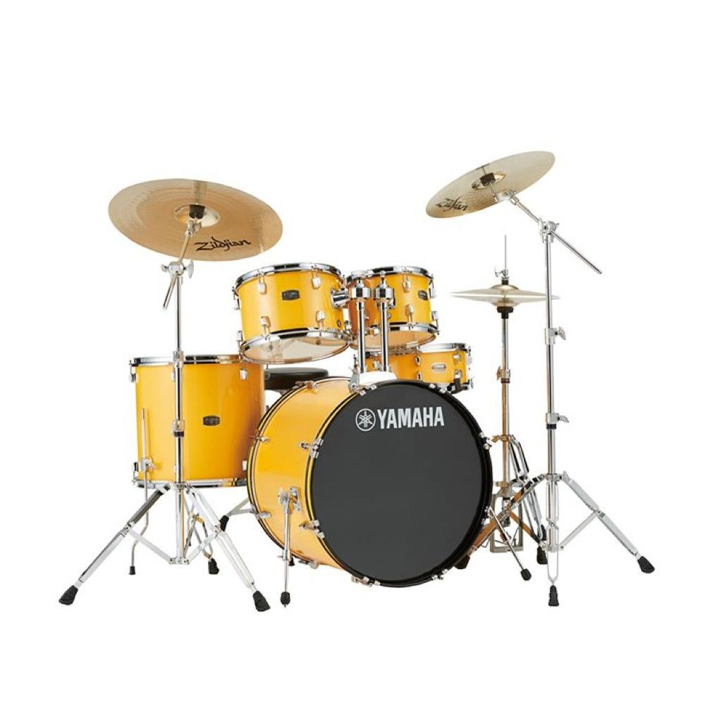 YAMAHA RYDEEN RYDEEN ドラムセット YAMAHA RDP2F5STD YL ドラムセット シンバル付きフルセット, franc bonn:3250c7d8 --- officewill.xsrv.jp