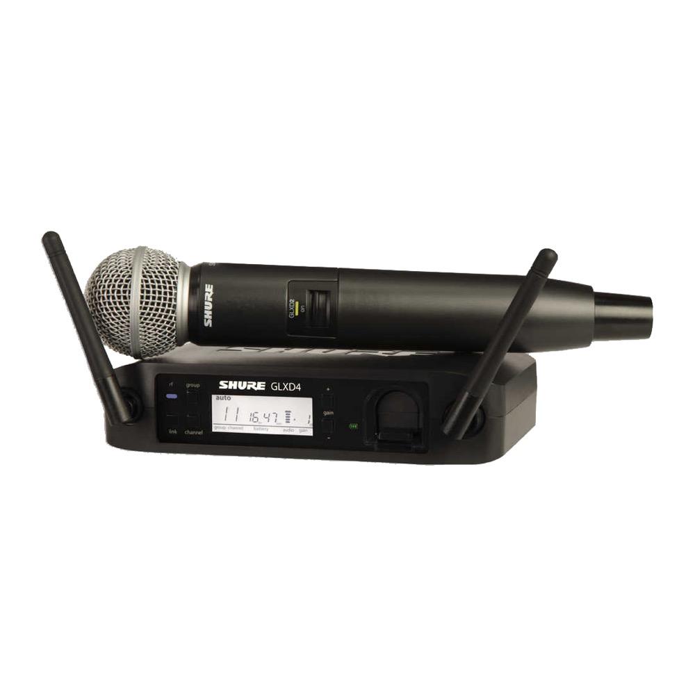 SHURE GLXD24/SM58 ハンドヘルド型ワイヤレスシステム