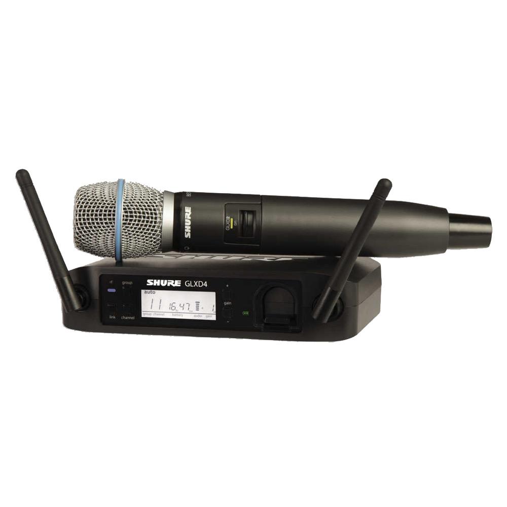 SHURE GLXD24/BETA 87A ハンドヘルド型ワイヤレスシステム
