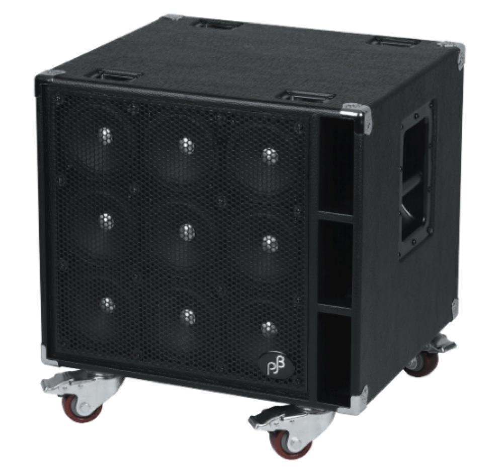 PHIL JONES BASS C9 Black Bass Cabinet ベース用スピーカーキャビネット