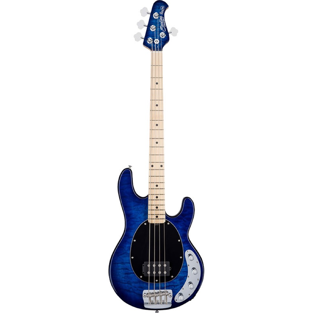 Sterling by MUSIC MAN Ray34QM Neptune Blue エレキベース