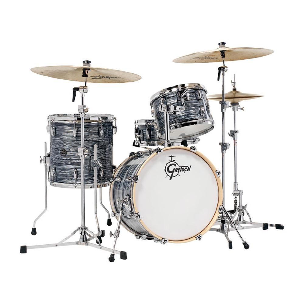 GRETSCH RN2-J483-SOP Silver Oyster Pearl ドラムセット