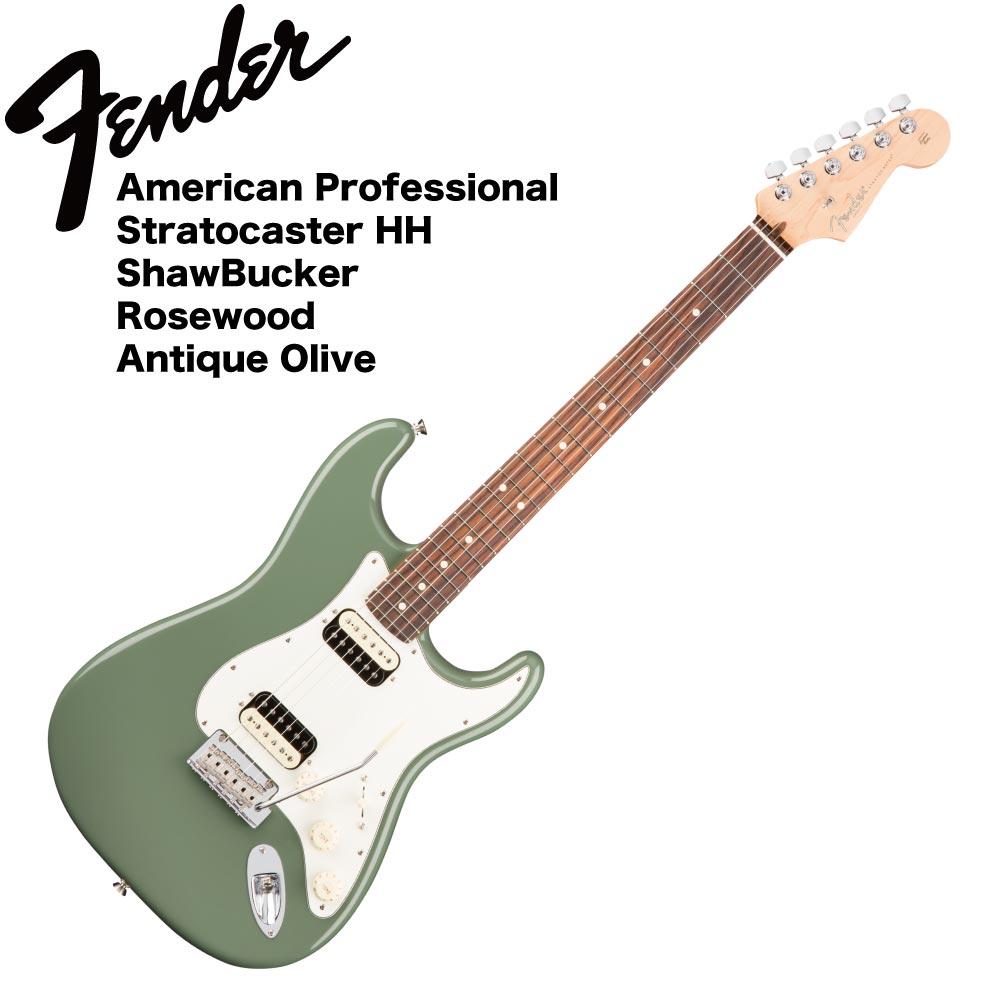 Fender American Professional Stratocaster HH ShawBucker RW ATO エレキギター