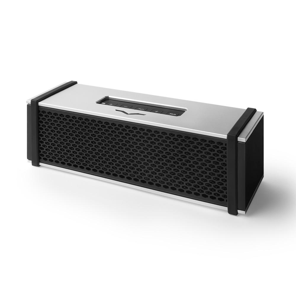 V-moda REMIX SILVER ポータブルアンプ搭載Bluetoothワイヤレススピーカー