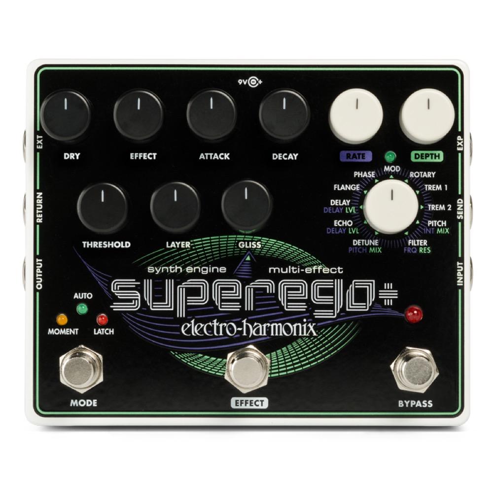 Electro-Harmonix Superego+ ギターシンセエフェクター