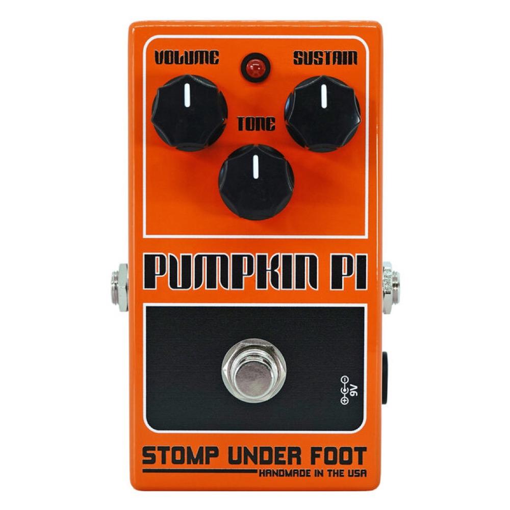 Stomp Under Foot Pumpkin Pi ファズ エフェクター